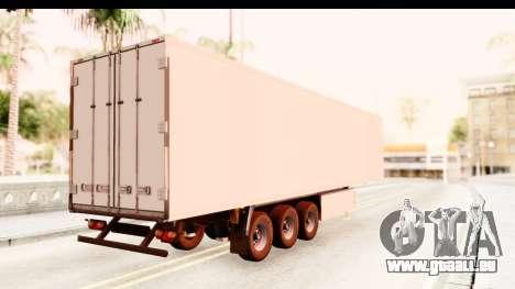 Trailer ETS2 v2 New Skin 1 pour GTA San Andreas laissé vue