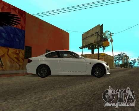 BMW M3 Armenian pour GTA San Andreas laissé vue