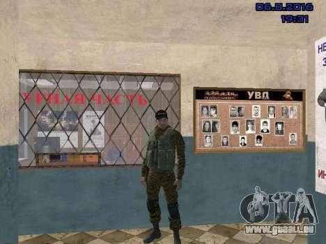 Policier pour GTA San Andreas deuxième écran