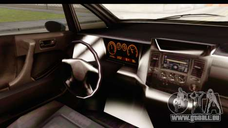 GTA 5 (4) Dinka Perennial IVF für GTA San Andreas Innenansicht