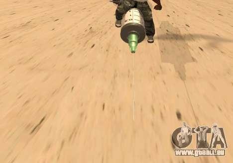 Seringue pour GTA San Andreas sur la vue arrière gauche