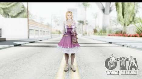 Tina Mashup from Dead Or Alive 5 pour GTA San Andreas deuxième écran