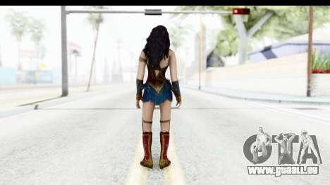 Injustice God Among Us - Wonder Woman BVS für GTA San Andreas dritten Screenshot