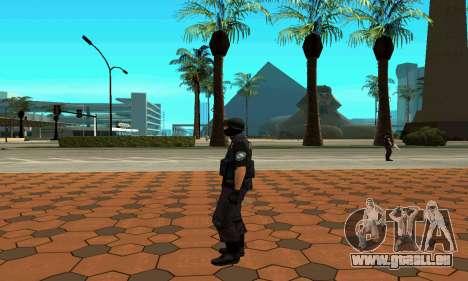 NextGen verändert die ursprüngliche Haut SWAT für GTA San Andreas sechsten Screenshot