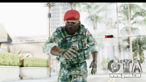 Global Warfare Indonesia pour GTA San Andreas
