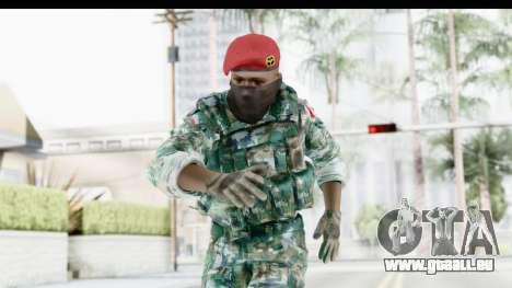 Global Warfare Indonesia für GTA San Andreas