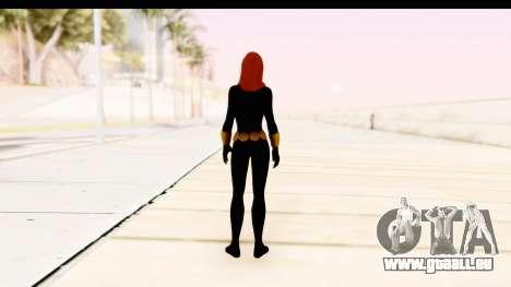 Marvel Heroes - Black Widow pour GTA San Andreas troisième écran