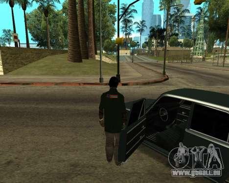 VAZ 2101 Armenian für GTA San Andreas obere Ansicht