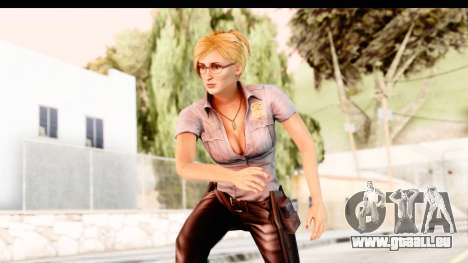Silent Hill Shattered Memories - Cybil pour GTA San Andreas