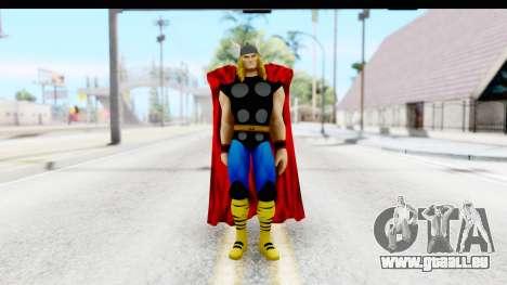 Marvel Heroes - Thor pour GTA San Andreas deuxième écran