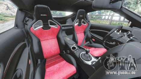 Nissan 370Z Nismo Z34 2016 [replace] für GTA 5