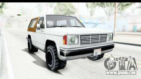 Ford Bronco from Bully pour GTA San Andreas