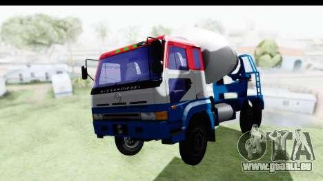 Nissan Diesel UD Big Thumb Cement Babena pour GTA San Andreas vue de droite