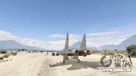 GTA 5 Su-30МКК HQ Chinesisch dritten Screenshot