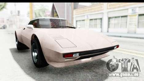 GTA 5 Lampadati Tropos SA Lights pour GTA San Andreas