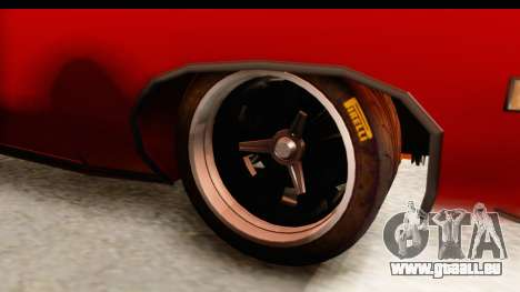 Ford Torino für GTA San Andreas Rückansicht