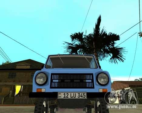 Luaz 969 Armenian pour GTA San Andreas laissé vue