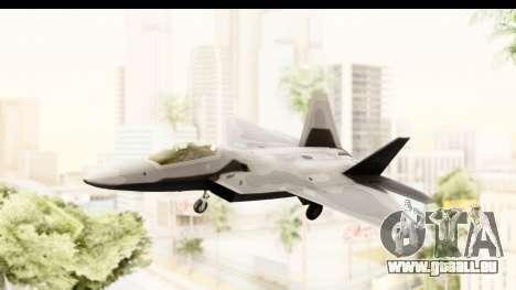 Lockheed Martin F-22 Raptor pour GTA San Andreas