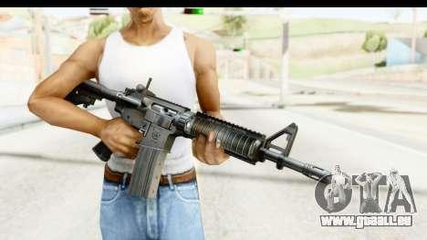 AR-15 pour GTA San Andreas troisième écran