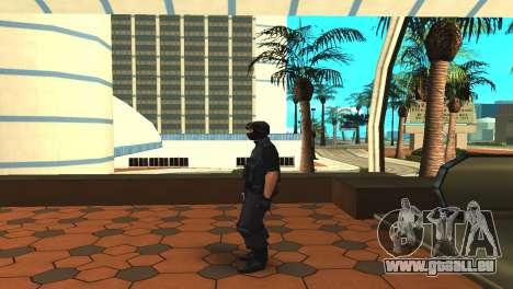 Modifizierte original SWAT skin für GTA San Andreas dritten Screenshot