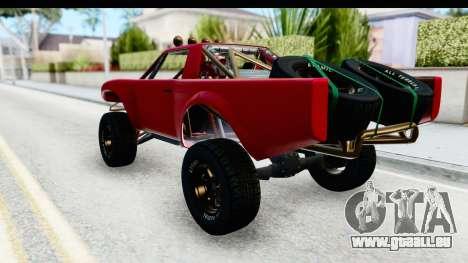 GTA 5 Trophy Truck SA Lights pour GTA San Andreas laissé vue