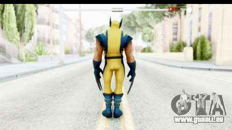Marvel Heroes - Wolverine Modern pour GTA San Andreas troisième écran