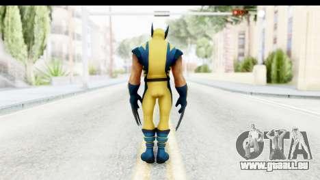 Marvel Heroes - Wolverine Modern für GTA San Andreas dritten Screenshot
