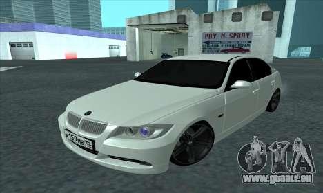 BMW 325i E90 pour GTA San Andreas