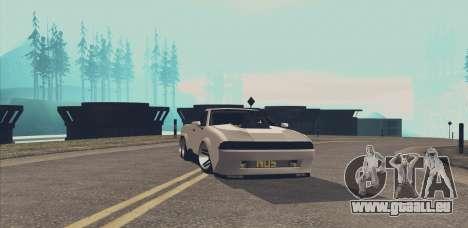 Elegy Ibragim für GTA San Andreas Rückansicht