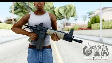 LR-300 Tan pour GTA San Andreas troisième écran