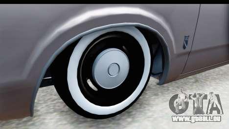Ford Taunus Coupe für GTA San Andreas Rückansicht