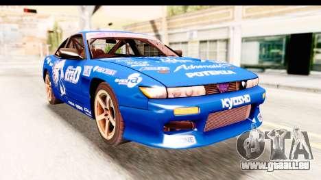 Nissan Sileighty 2015 D1GP für GTA San Andreas