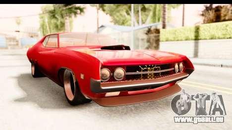 Ford Torino für GTA San Andreas rechten Ansicht