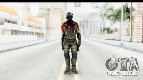 Homefront The Revolution - KPA v4 Dead pour GTA San Andreas deuxième écran
