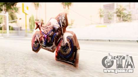 Yamaha MT-25 (MT-03) für GTA San Andreas