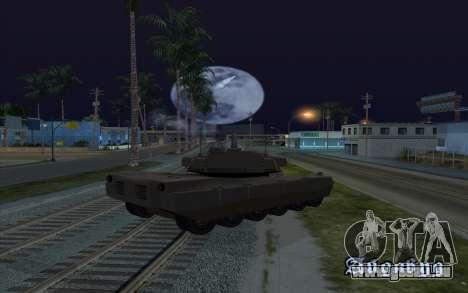 L'effet de la mise à feu de réservoir pour GTA San Andreas troisième écran