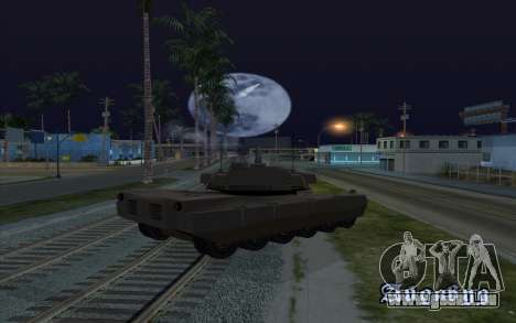 Die Wirkung der Zündung tank für GTA San Andreas dritten Screenshot
