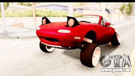 Mazda Miata with Crazy Camber für GTA San Andreas rechten Ansicht