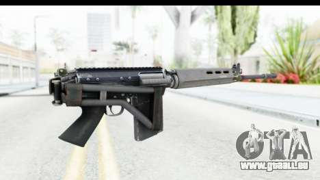 FN-FAL Folded pour GTA San Andreas troisième écran