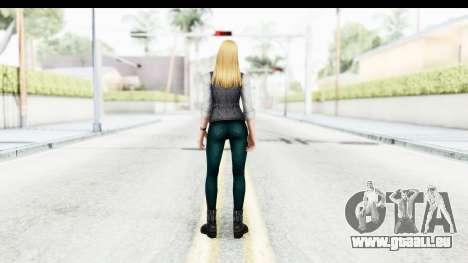 Marvel Future Fight - Sharon Carter (Civil War) für GTA San Andreas dritten Screenshot