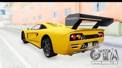 GTA 5 Progen Tyrus IVF pour GTA San Andreas laissé vue