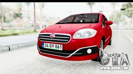 Fiat Linea 2015 v2 für GTA San Andreas rechten Ansicht