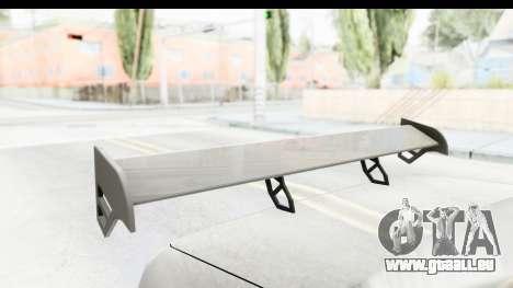 Elegy Sport Type v1 pour GTA San Andreas vue intérieure