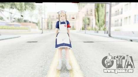 DoA 5: LR - Marie Rose Nurse v1 pour GTA San Andreas deuxième écran