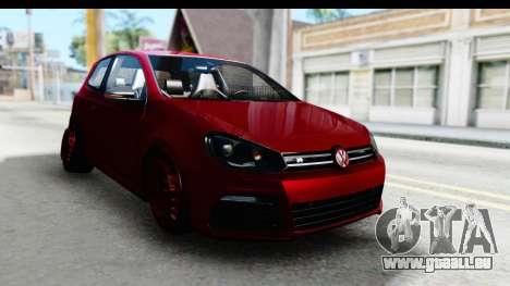 Volkswagen Golf R für GTA San Andreas