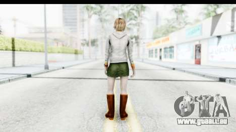 Silent Hill Downpour - Heather für GTA San Andreas dritten Screenshot