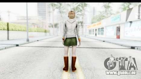 Silent Hill Downpour - Heather für GTA San Andreas dritten Screenshot