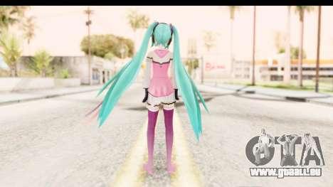 Project Diva F - Hatsune Miku Vocal Star Remade pour GTA San Andreas troisième écran