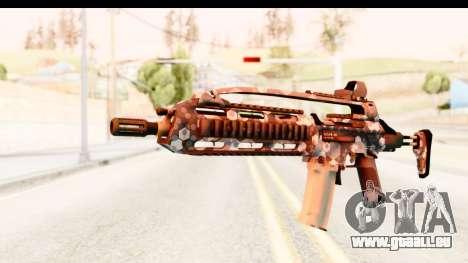 SCAR-LK Hex Camo Blue für GTA San Andreas
