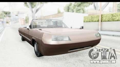 Savanna Daytona für GTA San Andreas rechten Ansicht